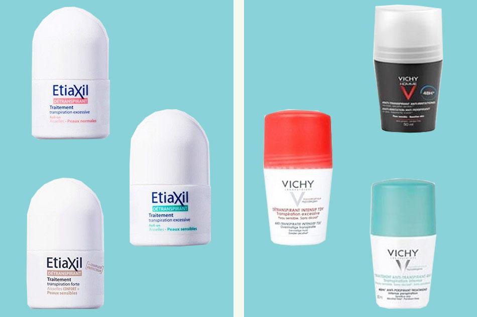 So sánh lăn khử mùi Etiaxil và Vichy