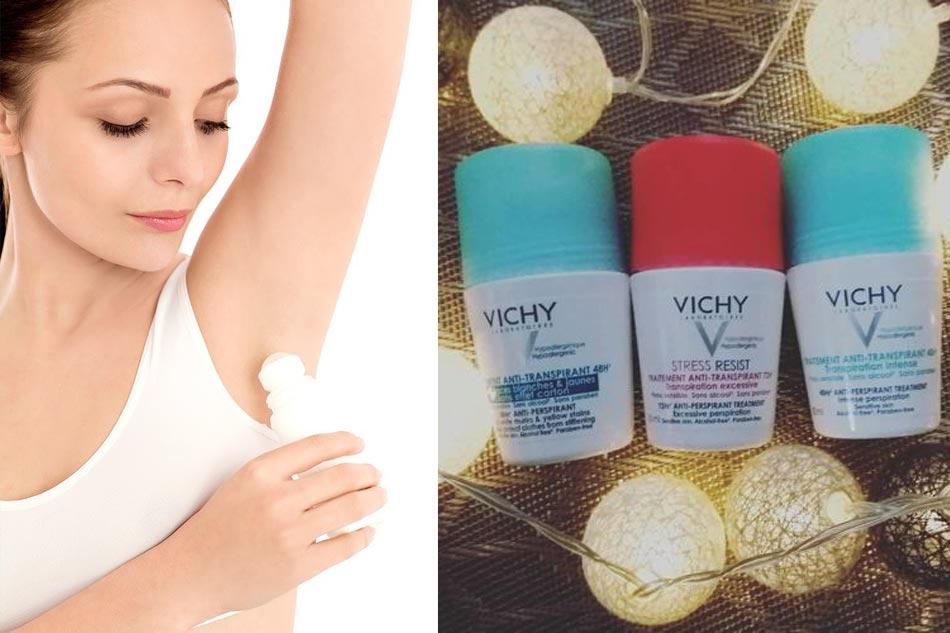 Thành phần chính có trong lăn nách khử mùi Vichy