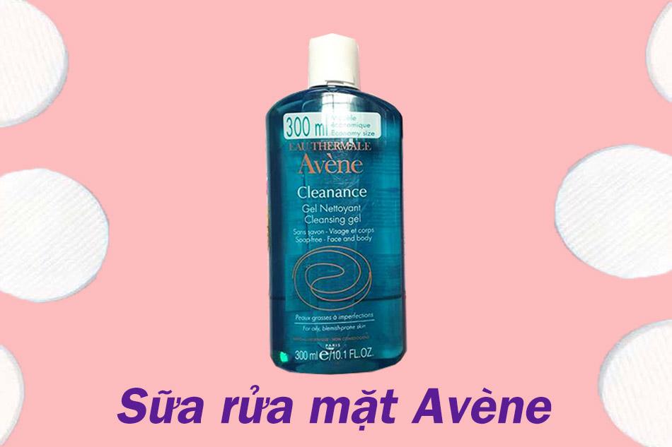 Sữa rửa mặt Avène