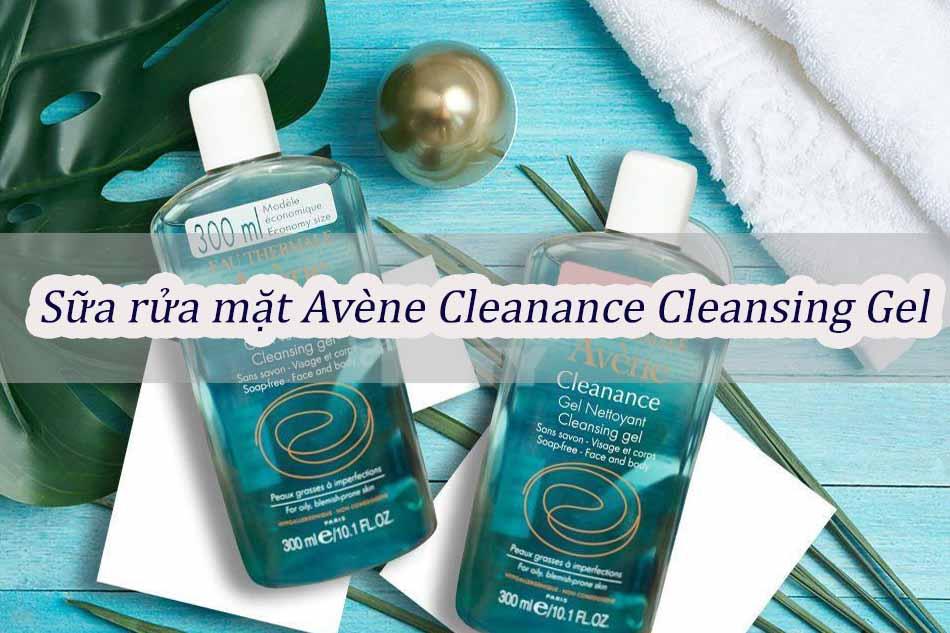 Sữa rửa mặt Avène Cleanance Cleansing Gel