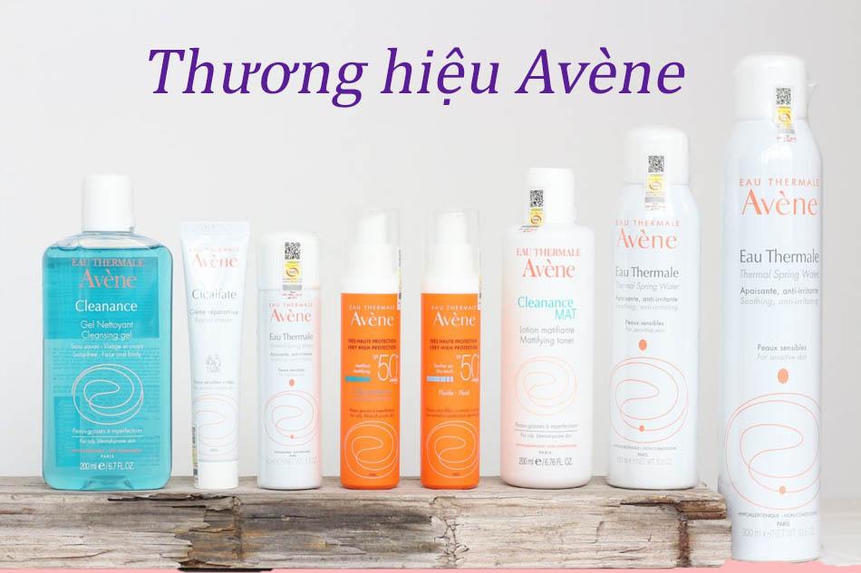 Tìm hiểu về thương hiệu Avène