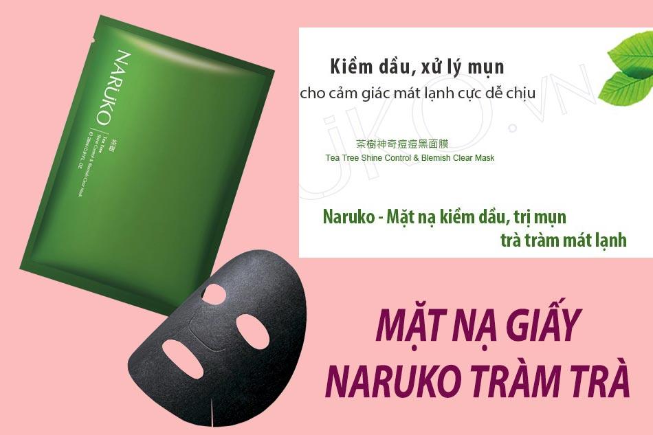 Mặt nạ giấy Naruko tràm trà
