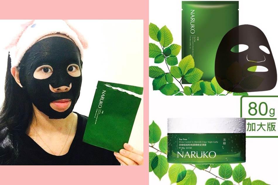 Lưu ý khi sử dụng mặt nạ Naruko tràm trà