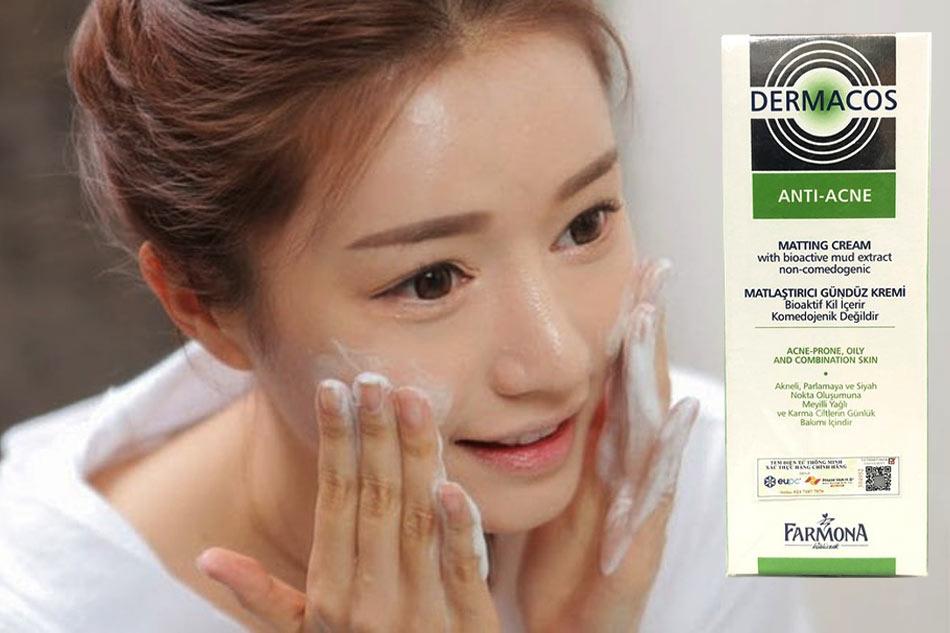 Sữa rửa mặt Dermacos Anti Acne có tốt không?