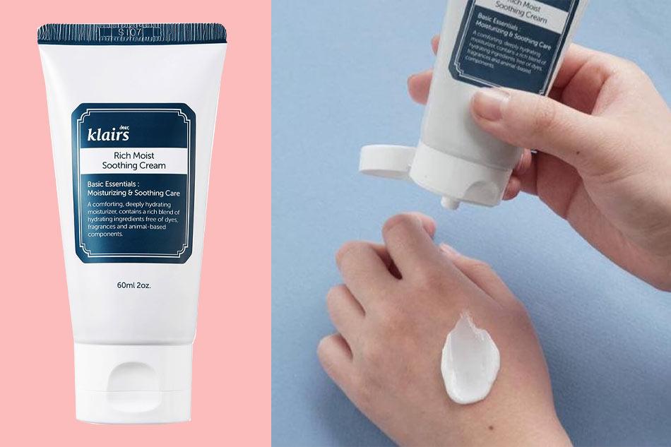 Tổng quan về kem dưỡng ẩm Klairs Rich Moist Soothing Cream