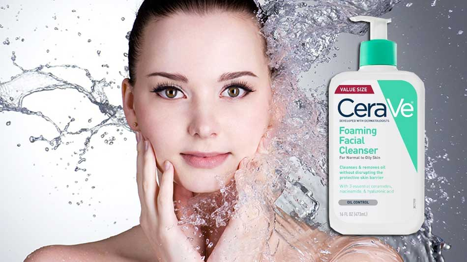 Công dụng của sữa rửa mặt CeraVe Foaming Facial Cleanser For Normal To Oily Skin