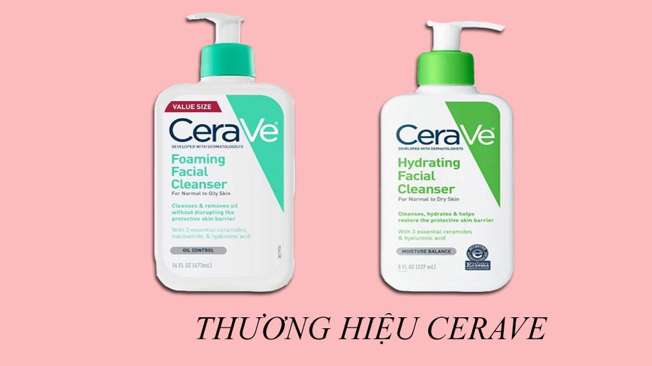 Thương hiệu CeraVe