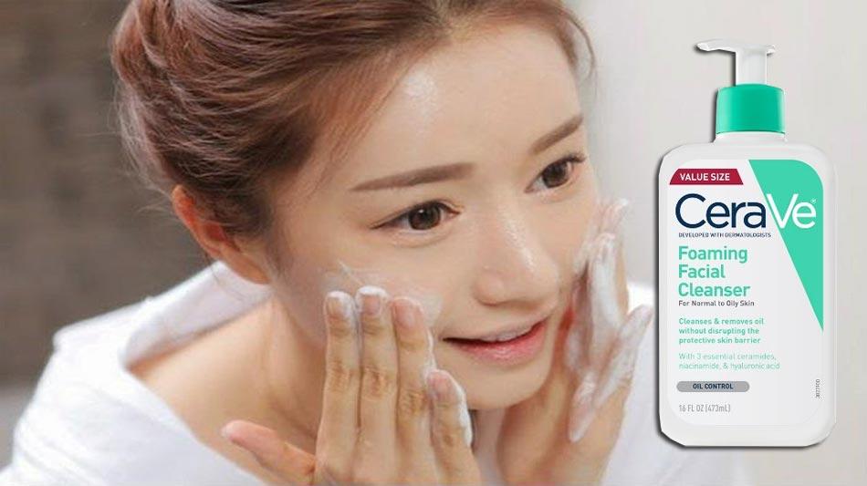 Ưu, nhược điểm của sữa rửa mặt CeraVe Foaming Facial Cleanser