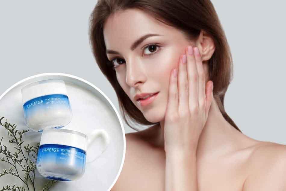 Kem dưỡng ẩm cho da khô Laneige Water Bank Moisture Cream EX